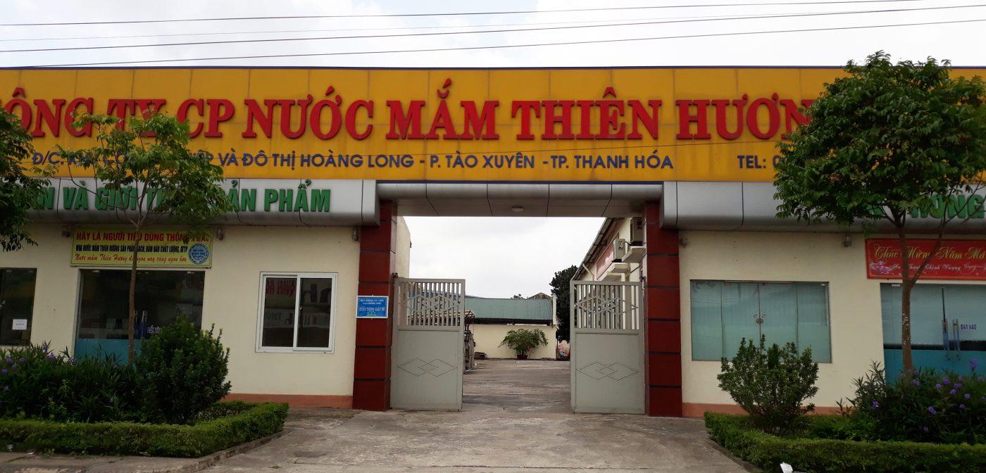 nước mắm, mắm tôm truyền thống Thiên Hương